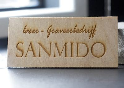 Sanmido houtgravering